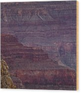 Grand Canyon Ridges Wood Print by Andrew Soundarajan