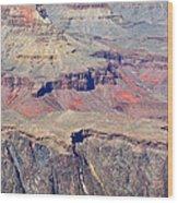 Grand Canyon Rock Formations IIi Wood Print