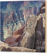 Grand Canyon Roxie Roller Wood Print