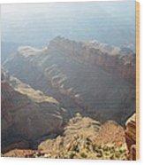 Grand Canyon Sunbeams Wood Print