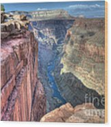 Grand Canyon Toroweap Vista Wood Print