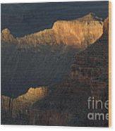 Grand Canyon Vignette 1 Wood Print
