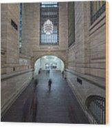 Grand Central Interior Wood Print