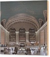 Grand Central Station The Main Wood Print