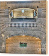Grand Central Terminal East Balcony I Wood Print