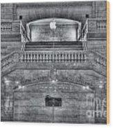 Grand Central Terminal East Balcony II Wood Print