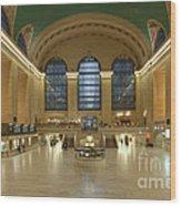 Grand Central Terminal I Wood Print