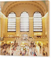 Grand Central Terminal New York City Wood Print
