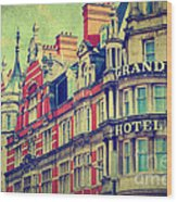 Grand Hotel Wood Print