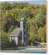Grand Island E Channel Lighthouse 2 Wood Print