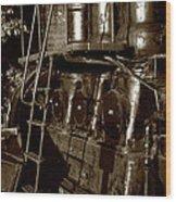 Grand Old Diesel Wood Print