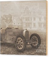 Grand Prix Racing Car 1926 Wood Print by Jutta Maria Pusl