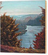 Grand River Look-out Wood Print