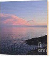 Grand Sunset II Wood Print