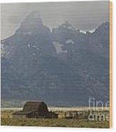 Grand Tetons Jackson Wyoming Wood Print