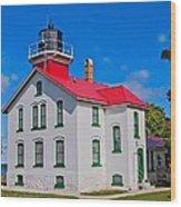 Grand Traverse Lighthouse Wood Print