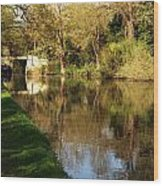 Grand Union Canal Near Denham Wood Print
