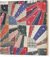 Grandma Baird's Quilt Wood Print