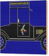 Grandma Duck Fruits Ltd - Virtual Car Wood Print