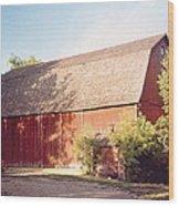Grandpas Barn Wood Print