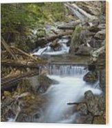 Granite Creek Wood Print