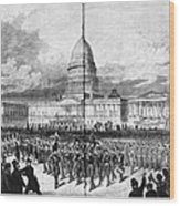 Grants Inauguration, 1873 Wood Print by Granger