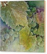 Grapes II Wood Print