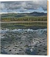 Gravel Lake, North Klondike Highway Wood Print