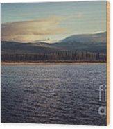 Gravel Lake Wood Print