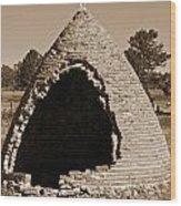 Graveyard Dome Wood Print