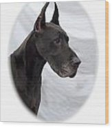 Great Dane 189 Wood Print