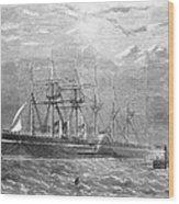 Great Eastern, 1860 Wood Print