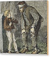 Great Expectations Wood Print