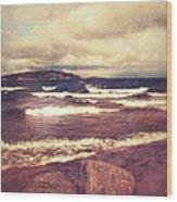 Great Lakes Wood Print