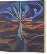 Great Light Dawns Wood Print