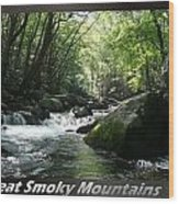 Great Smoky Mountains National Park 12 Wood Print