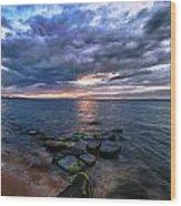Great South Bay Wood Print