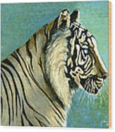 great White Hunter Wood Print by Andrea Camp