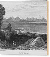 Greece: Levkas, 1832 Wood Print