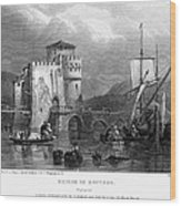 Greece: Negropont, 1833 Wood Print by Granger