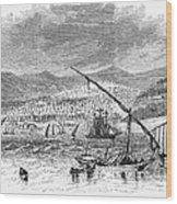 Greece: Salonika, 1876 Wood Print by Granger