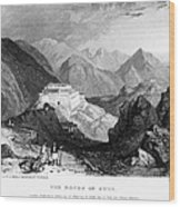 Greece: Souli, 1833 Wood Print