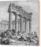 Greece: The Parthenon 1833 Wood Print by Granger