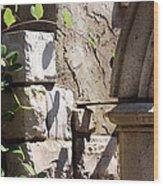 Green Archway Wood Print
