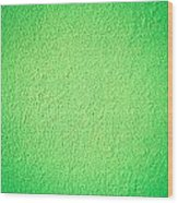 Green Background Wood Print