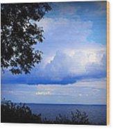 Green Bay Water View Wood Print