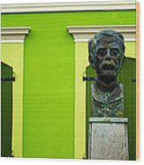 Green Wood Print by Mauricio Jimenez