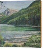 Green River Lake Wood Print