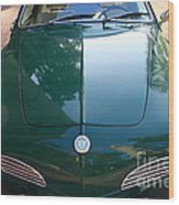 Green Volkswagon Karmann Ghia . 7d10088 Wood Print