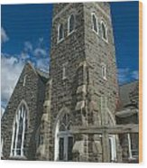 Greenmount United Methodist Church Wood Print